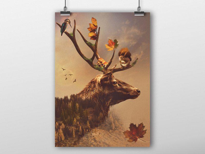 automne-graphic-design-poster