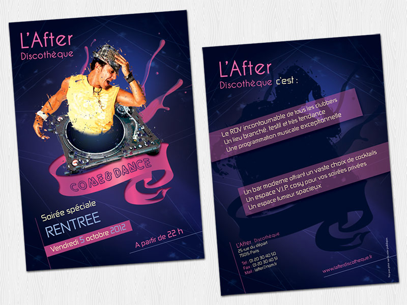 flyer-discotheque