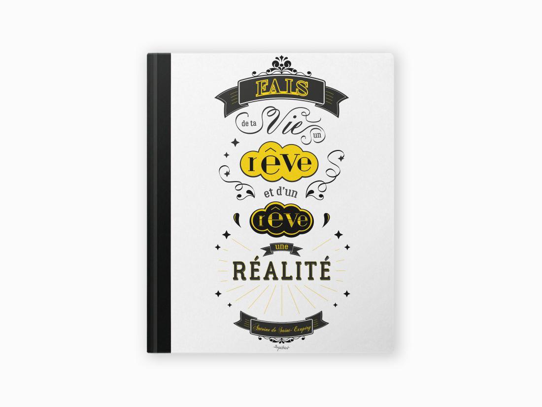 notebook-vie-rêve-réalité