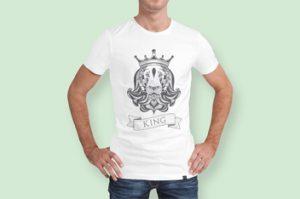 Tshirt King of Spade